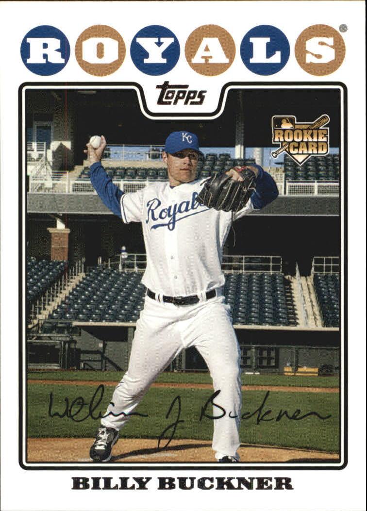 2008 Topps #182 Billy Buckner (RC)