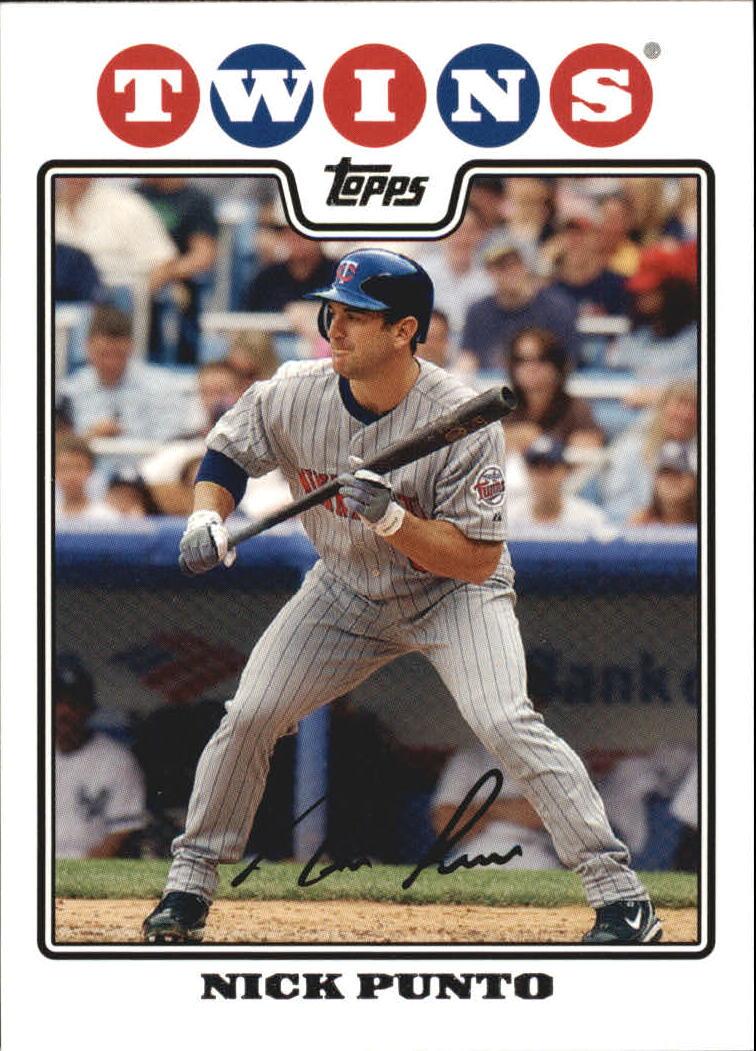 2008 Topps #583 Nick Punto
