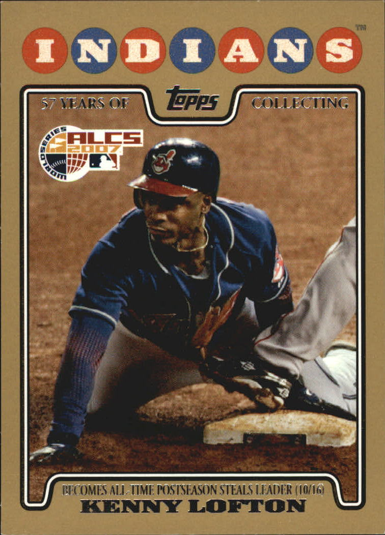 2008 Topps Gold Border #128 Kenny Lofton