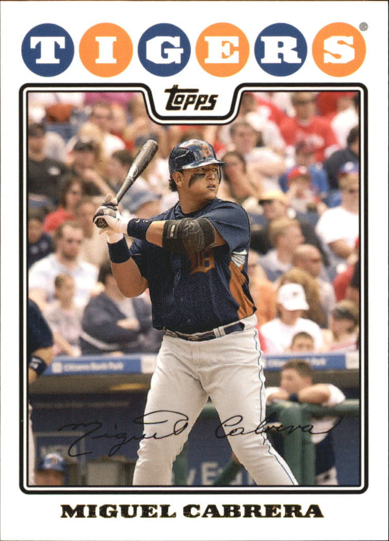 2008 Topps Gold Foil #10 Miguel Cabrera
