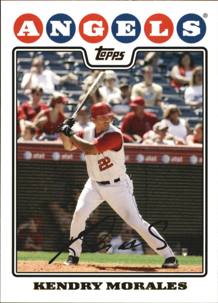 2008 Topps Gold Foil #13 Kendry Morales