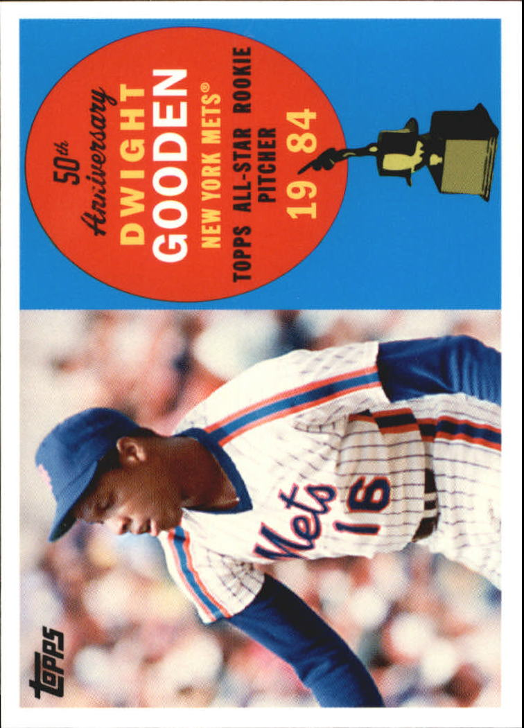 2008 Topps 50th Anniversary All Rookie Team #AR3 Dwight Gooden