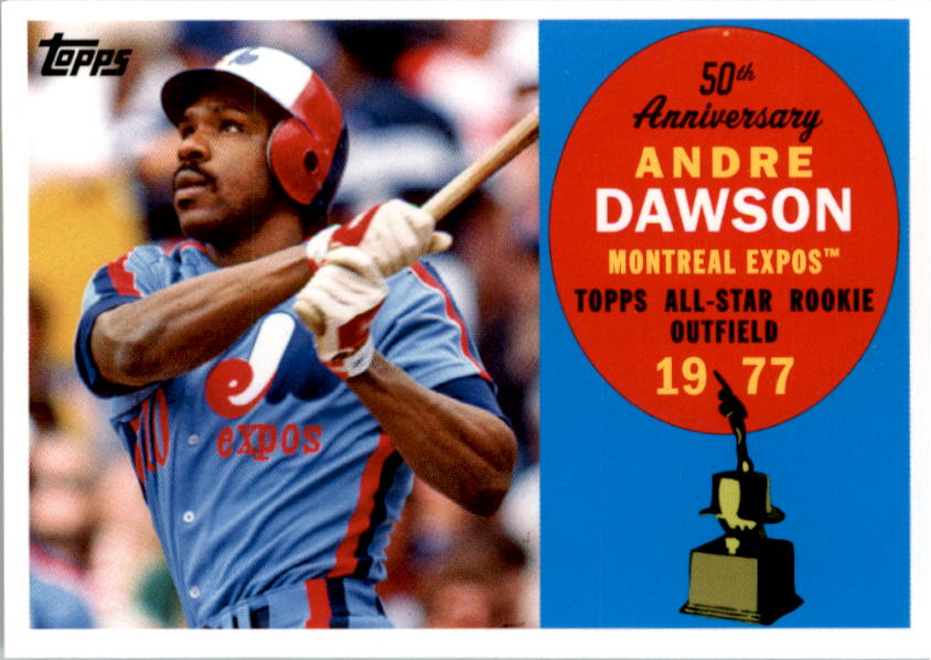 2008 Topps 50th Anniversary All Rookie Team #AR8 Andre Dawson
