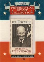 2008 Topps Presidential Stamp Collection #DDE1 Dwight D. Eisenhower