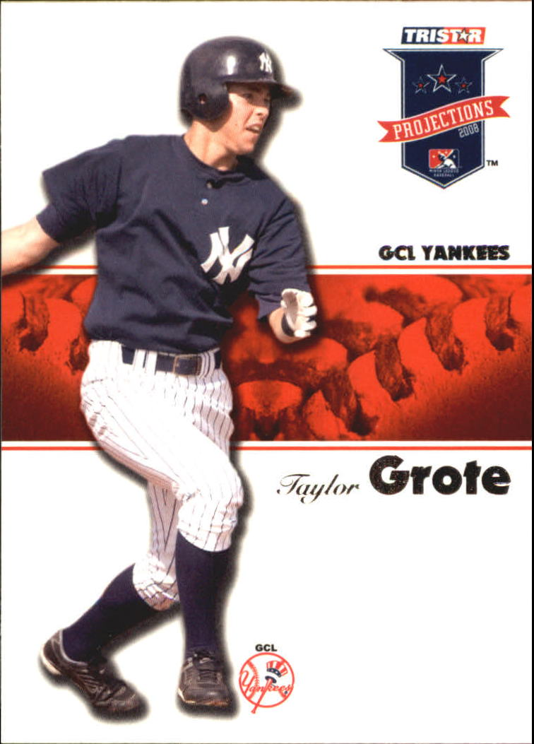 2008 TRISTAR PROjections #6 Taylor Grote