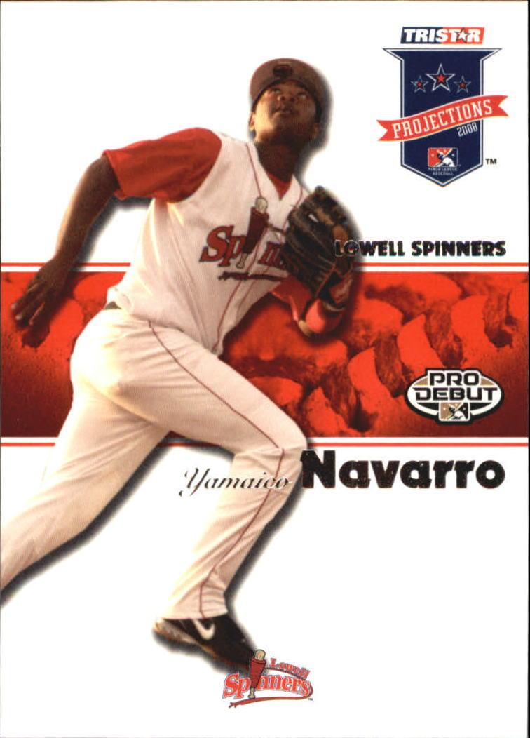 2008 TRISTAR PROjections #11 Yamaico Navarro PD