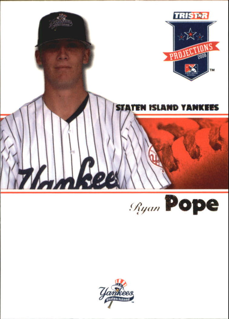 2008 TRISTAR PROjections #12 Ryan Pope