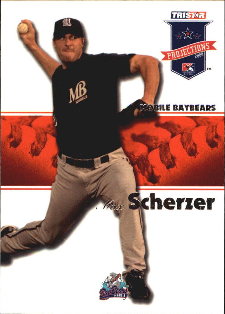 2008 TRISTAR PROjections #14 Max Scherzer