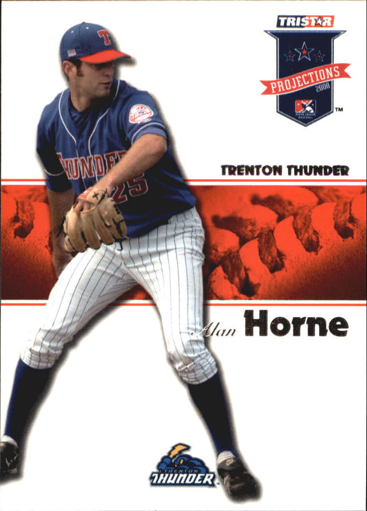 2008 TRISTAR PROjections #15 Alan Horne