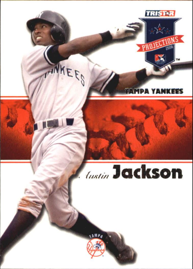 2008 TRISTAR PROjections #19 Austin Jackson
