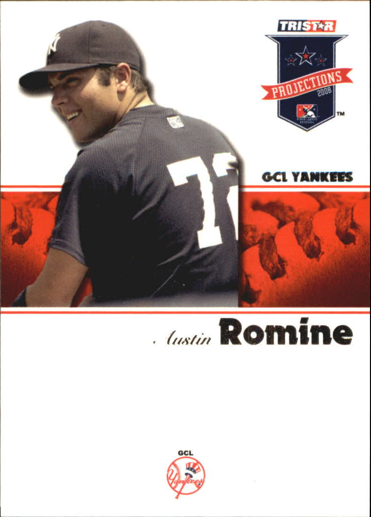 2008 TRISTAR PROjections #20 Austin Romine