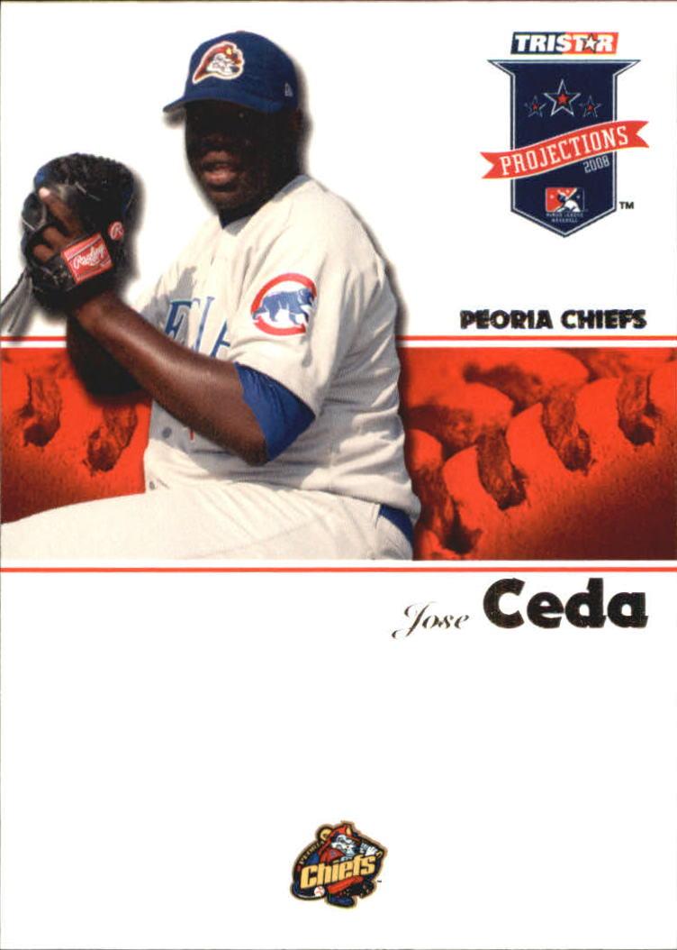 2008 TRISTAR PROjections #22 Jose Ceda