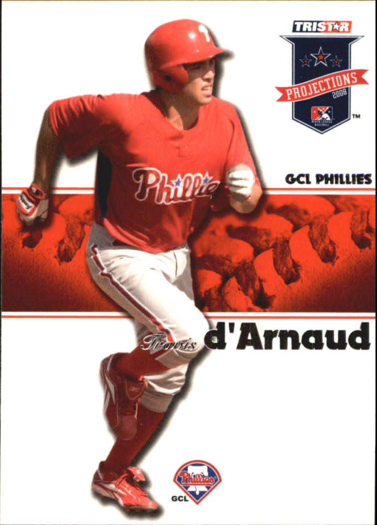 2008 TRISTAR PROjections #23 Travis d'Arnaud