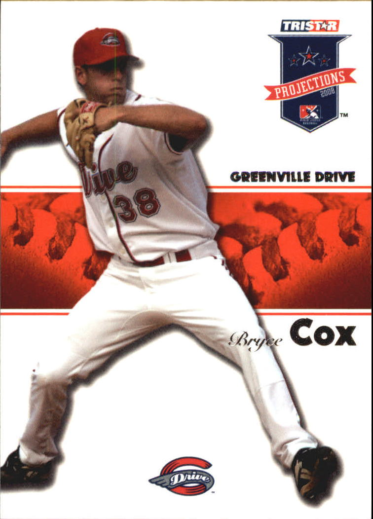 2008 TRISTAR PROjections #25 Bryce Cox
