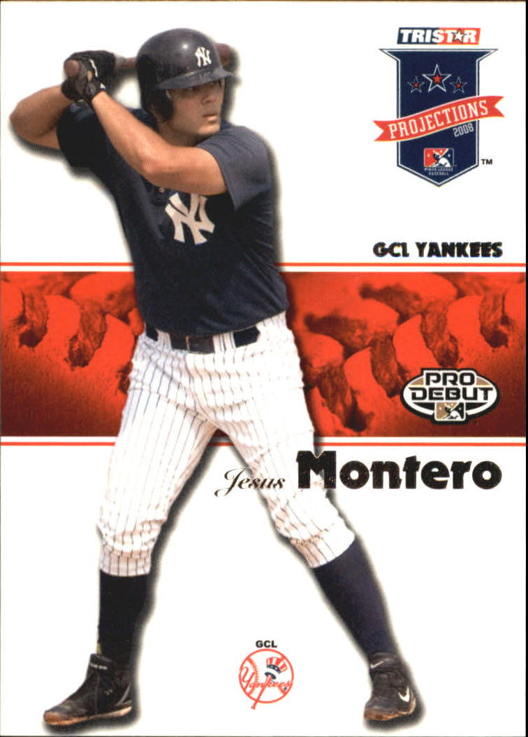 2008 TRISTAR PROjections #53 Jesus Montero PD