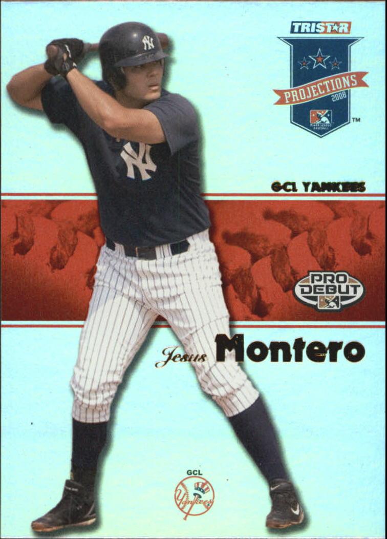 2008 TRISTAR PROjections Reflectives #53 Jesus Montero