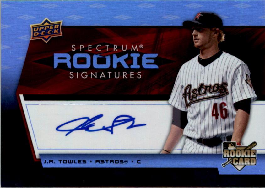 2008 Upper Deck Spectrum #119 J.R. Towles AU RC