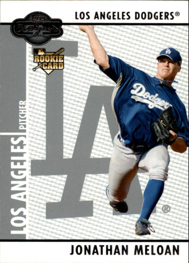 2008 Topps Co-Signers #98 Jonathan Meloan RC