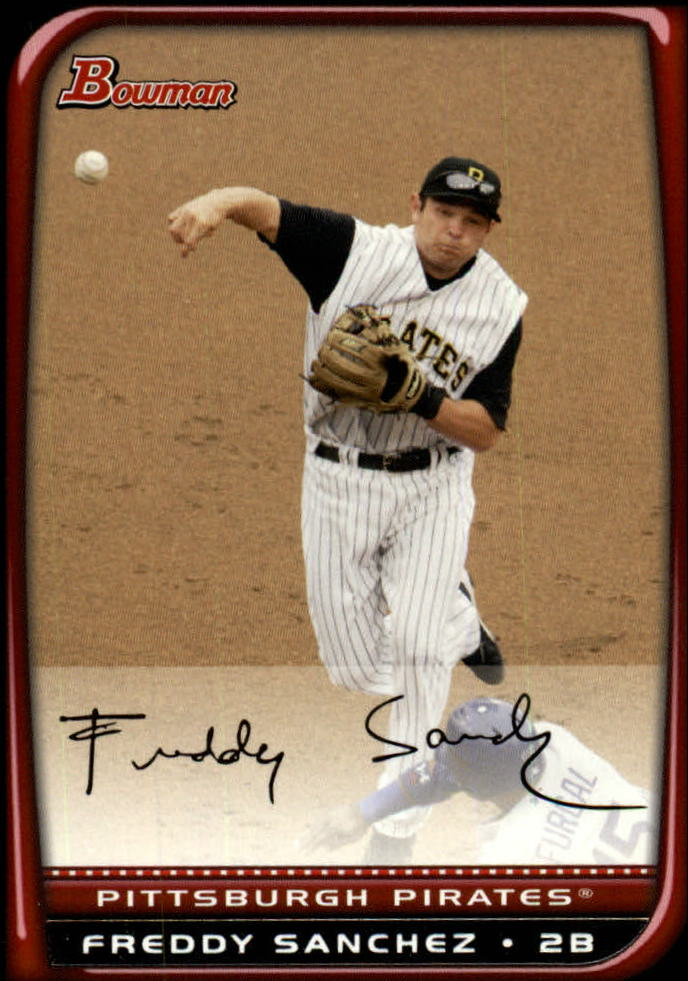 2008 Bowman #93 Freddy Sanchez