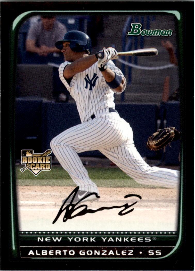 2008 Bowman #219 Alberto Gonzalez RC