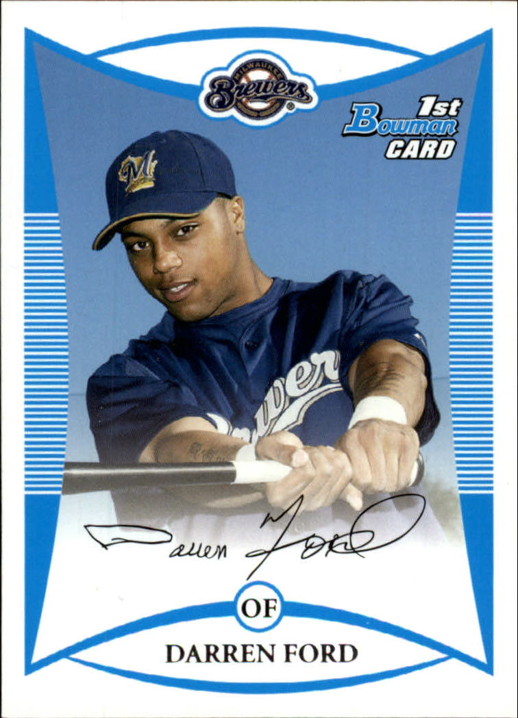 2008 Bowman Prospects #BP3 Darren Ford