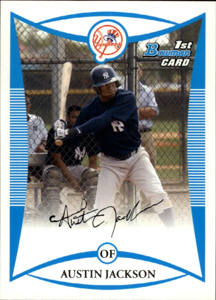 2008 Bowman Prospects #BP50 Austin Jackson