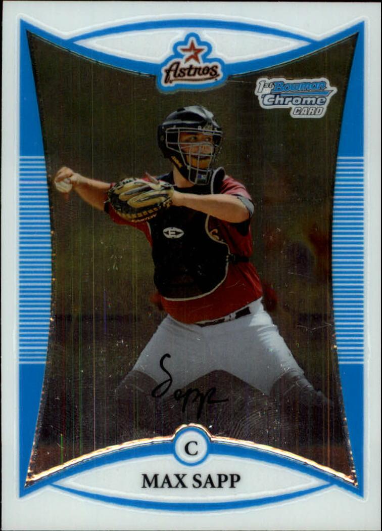 2008 Bowman Chrome Prospects #BCP1 Max Sapp