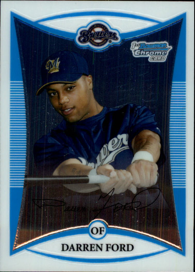2008 Bowman Chrome Prospects #BCP3 Darren Ford