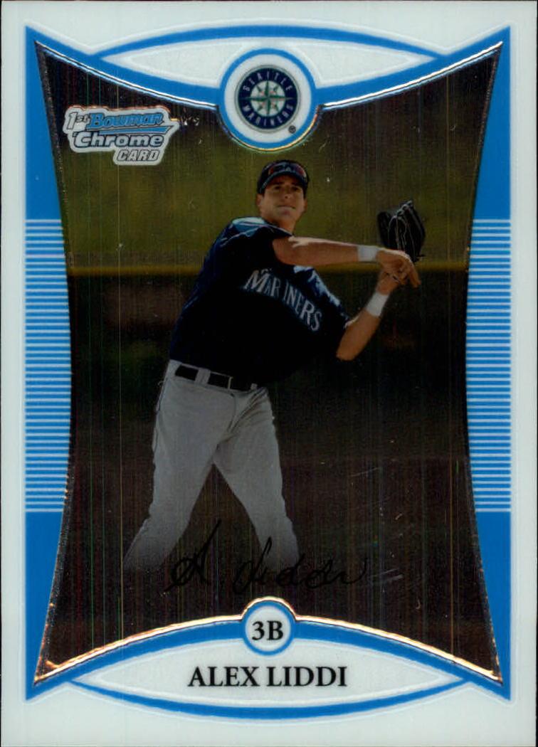 2008 Bowman Chrome Prospects #BCP63 Alex Liddi