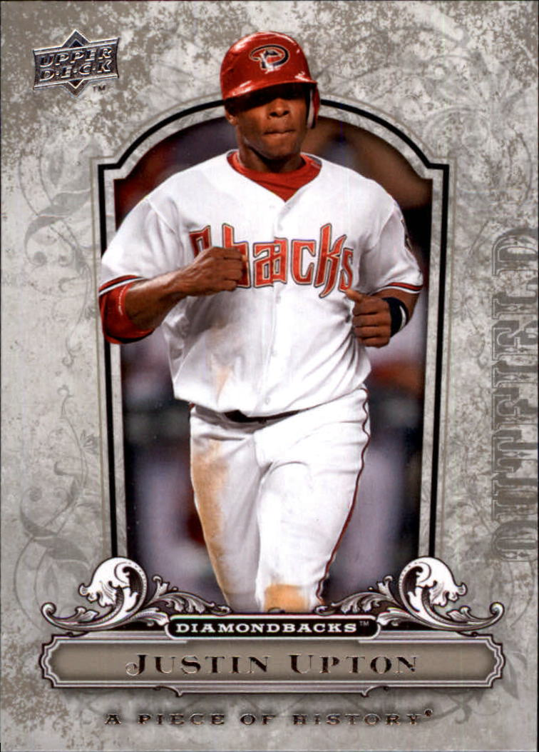 2008 UD A Piece of History #3 Justin Upton