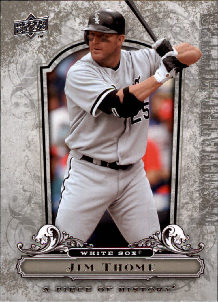 2008 UD A Piece of History #25 Jim Thome
