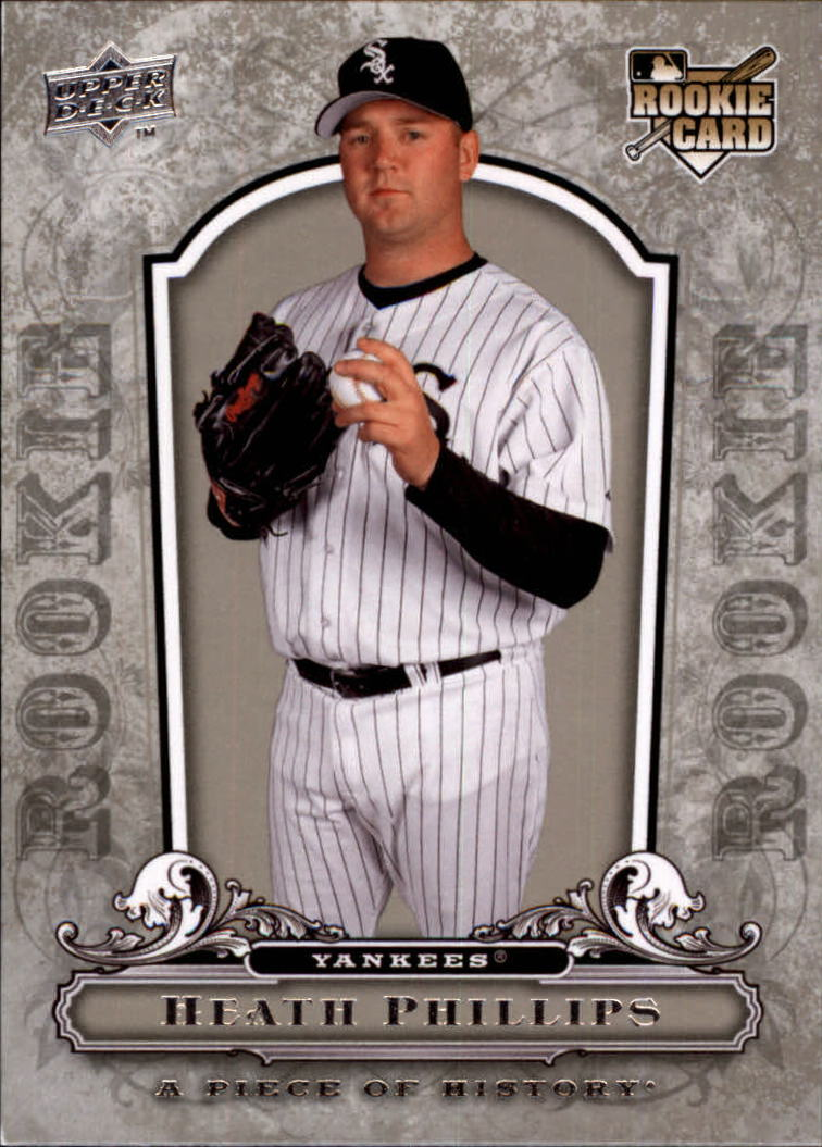 2008 UD A Piece of History #110 Heath Phillips RC