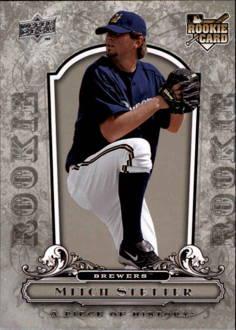 2008 UD A Piece of History #126 Mitch Stetter RC