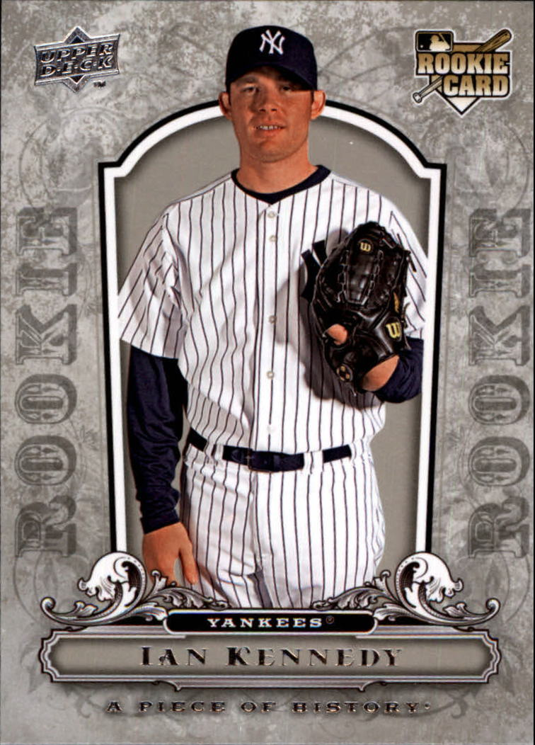 2008 UD A Piece of History #130 Ian Kennedy RC