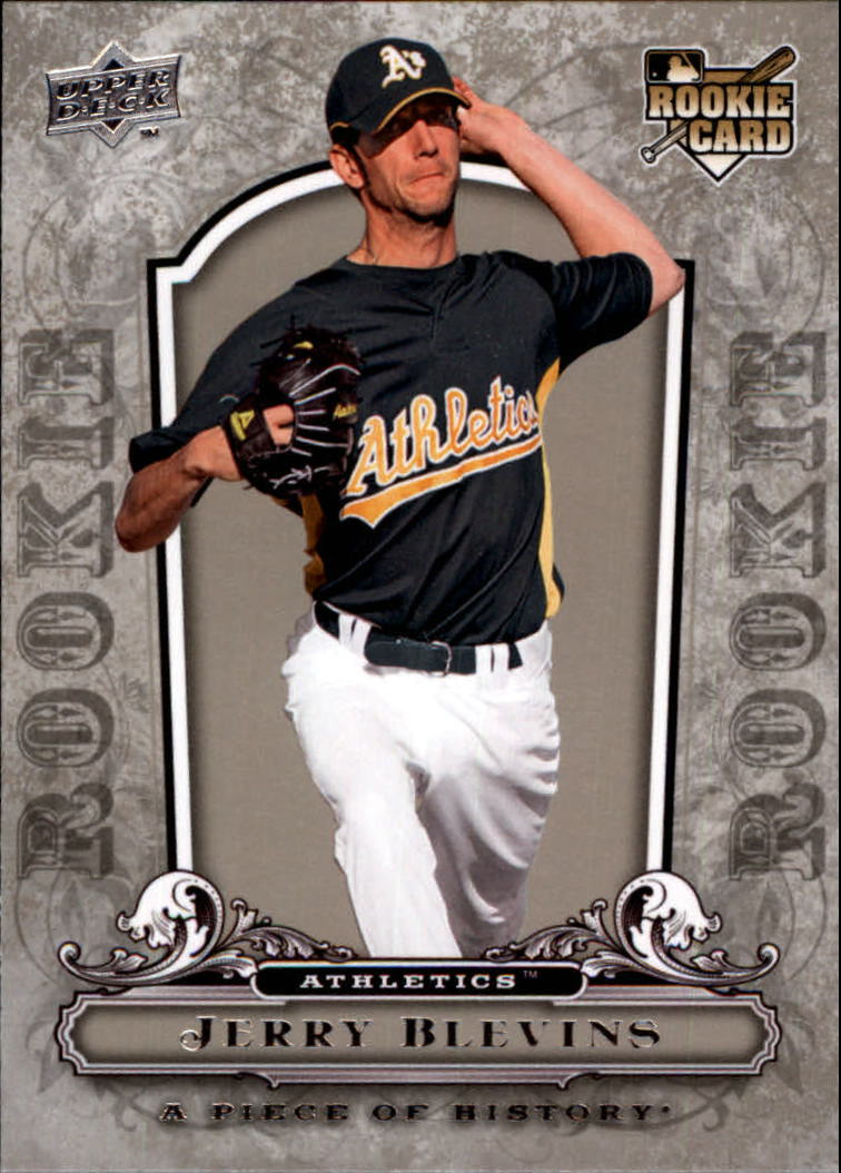 2008 UD A Piece of History #134 Jerry Blevins RC