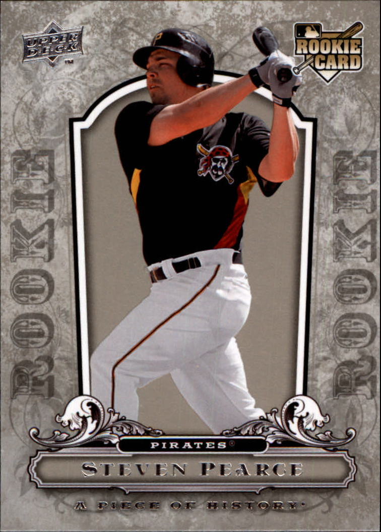 2008 UD A Piece of History #137 Steve Pearce RC