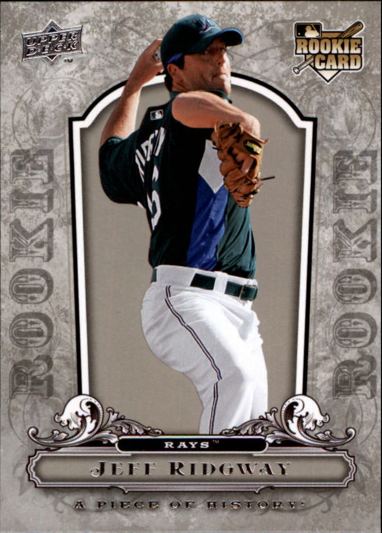 2008 UD A Piece of History #145 Jeff Ridgway RC