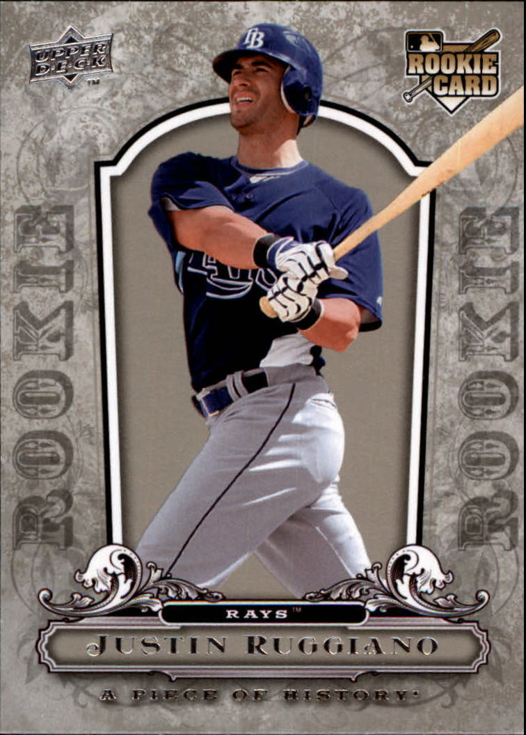 2008 UD A Piece of History #146 Justin Ruggiano RC