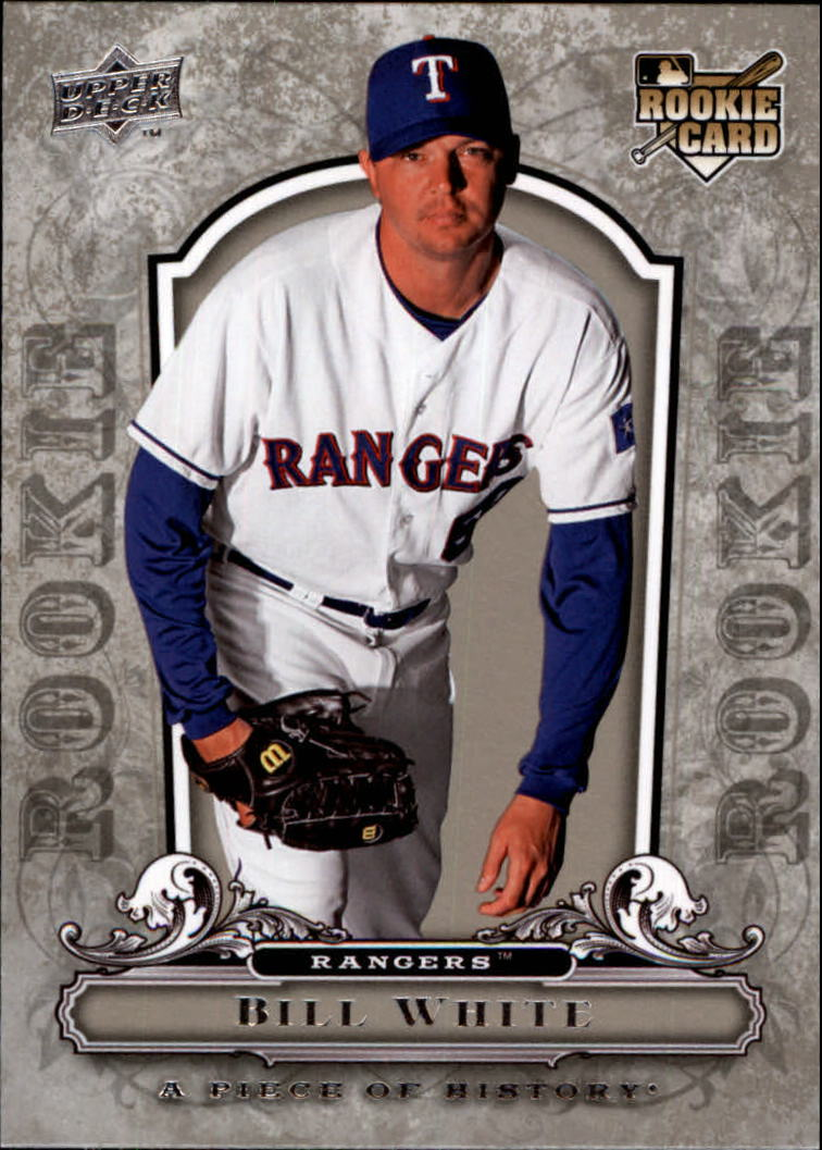 2008 UD A Piece of History #148 Bill White RC