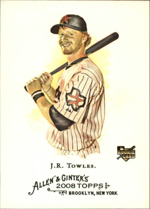 2008 Topps Allen and Ginter #39 J.R. Towles RC