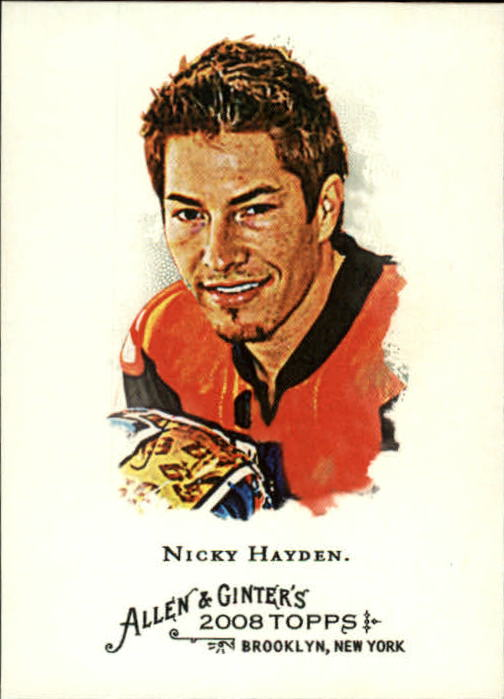 2008 Topps Allen and Ginter #59 Nicky Hayden