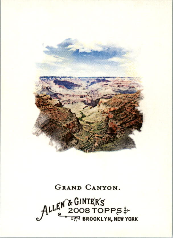 2008 Topps Allen and Ginter #144 Grand Canyon