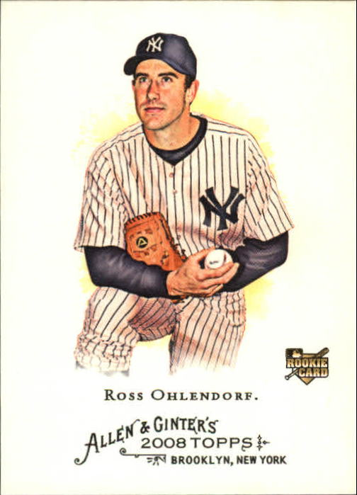 2008 Topps Allen and Ginter #157 Ross Ohlendorf RC