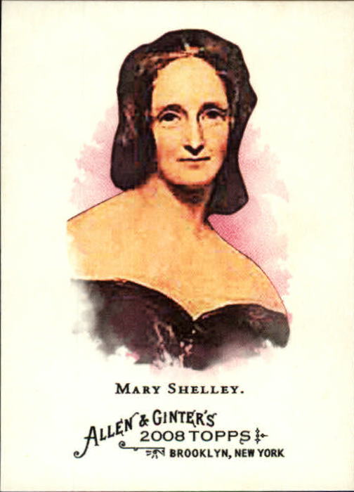 2008 Topps Allen and Ginter #158 Mary Shelley