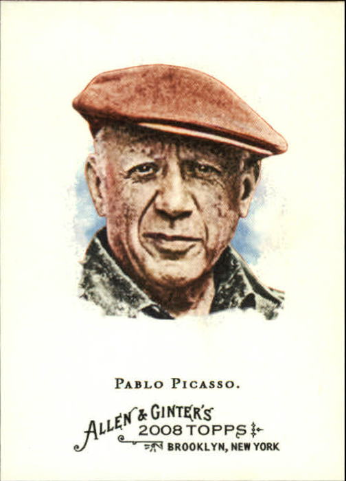 2008 Topps Allen and Ginter #172 Pablo Picasso