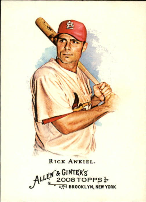 2008 Topps Allen and Ginter #173 Rick Ankiel