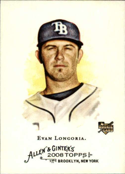 2008 Topps Allen and Ginter #177 Evan Longoria RC