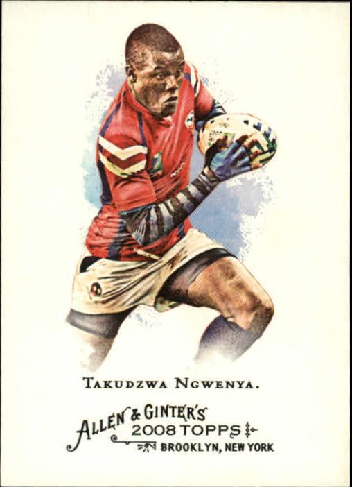 2008 Topps Allen and Ginter #242 Takudzwa Ngwenya