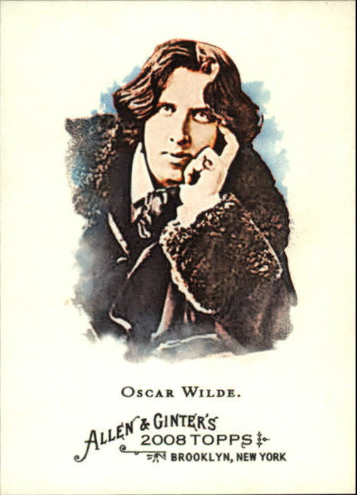 2008 Topps Allen and Ginter #276 Oscar Wilde