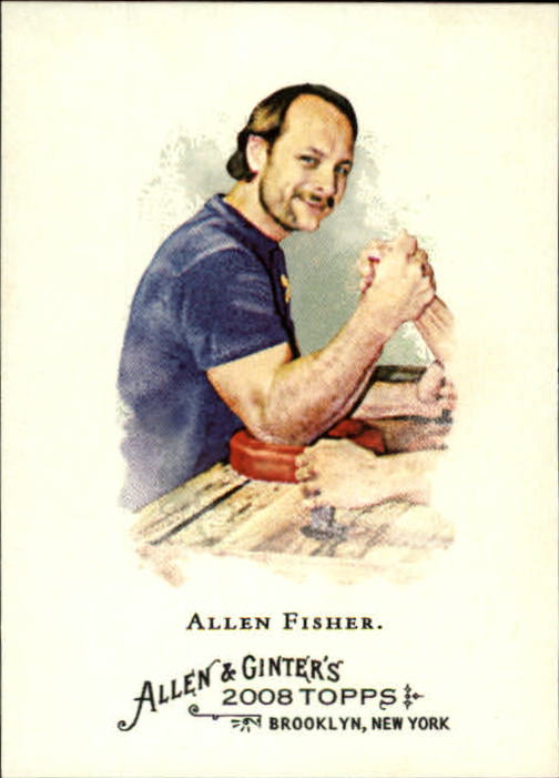 2008 Topps Allen and Ginter #336 Allen Fisher SP